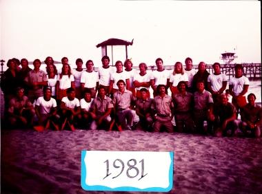 Staff Photo 1981